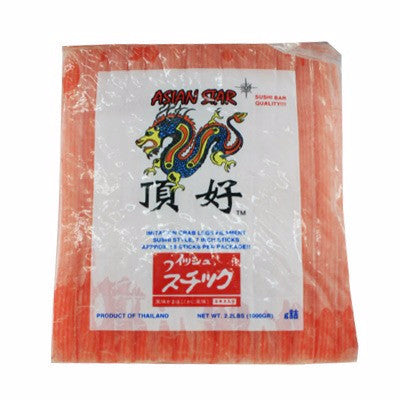 [ASIAN STAR] Crab Flavored Seafood/게맛살 (2.2lbs)