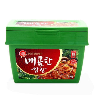 [Sempio] Seasoned Soybean Paste (Spicy)/샘표 매콤한 쌈장 (1kg)