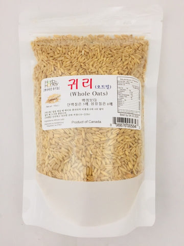 Whole Oats 16oz / 귀리(오트밀) 16oz