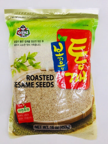 [ASSI] ROASTED SESAME SEEDS / 아씨 볶음 통깨 16oz