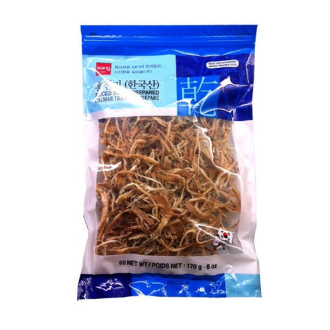 [WANG]Dried Shredded Squid / 홍진미 어징어채 (170g)