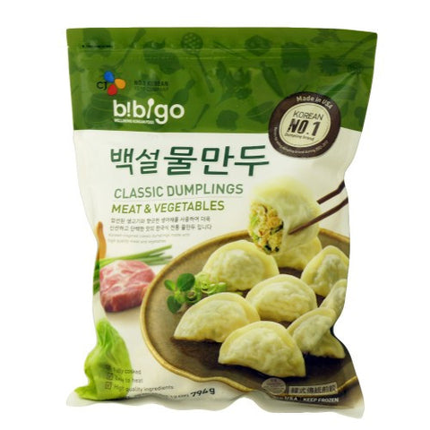CJ BaekSul Bibigo Classic Meat & Vegetable Dumpling /비비고 백설 물만두(794g)
