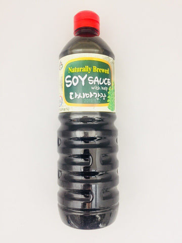 [ASSI] NATURALLY BREWED SOY SAUCE WITH KELP / 아씨 다시마 간장 1L