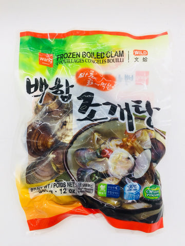 [wang] Frozen Boiled Clam / 왕 백합 조개탕 340g