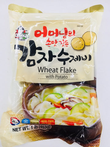 [ASSI] Wheat Flake with Potato / 아씨 감자 수제비 1LB
