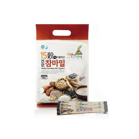 Healthy Yam Meal with 15 Grains/15곡이 들어간 건강 참마밀