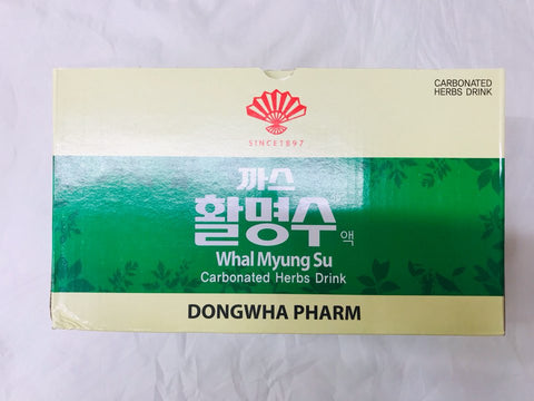 [DONGHWA] WHAL MYUNG SU (Carbonated Herbs Drink) / 동화약품 까스 활명수 75ml X 10개입
