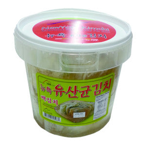 [New York Kimctli] Lactobacillus White Cabbage Kimchi/뉴욕 유산균 백김치 (1Gal)
