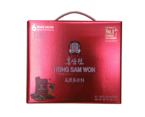 [Cheong-Kwan-Jang] Hong Sam Won/정관장 홍삼원( 20ea x 1.69 fl oz)