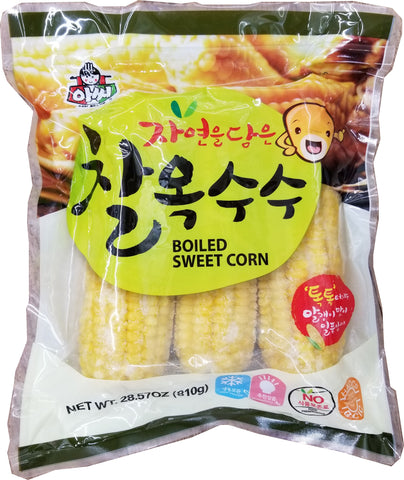 assi boiled sweet corn / 아씨 찰옥수수 810g