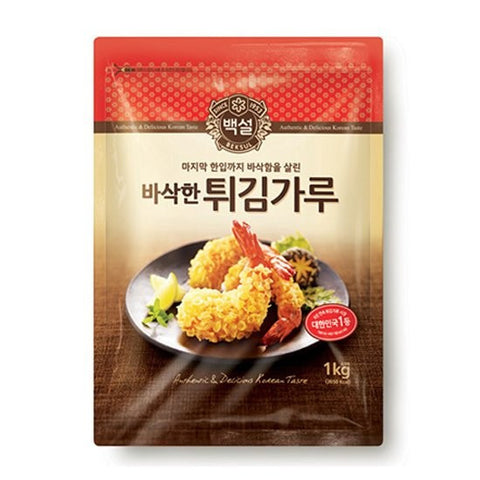 [CJ] Beksul Frying Mix/CJ 백설 튀김가루 1kg