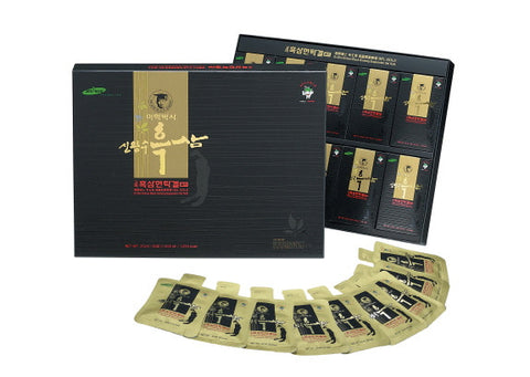 [Dr. Shin] Black Ginseng Suspension Gel Gold/의학박사 신왕수 고려 흑삼 현탁겔 골드 1000ml (20ml x 50pcs)