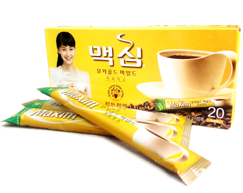[Maxim] Mocha Gold Coffee Mix/맥심 모카골드 커피믹스(12g*20pk)