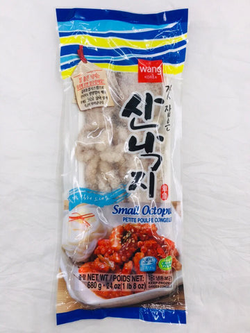 [WANG] FROZEN OCTOPUS 24oz / 왕 산낙지 680g