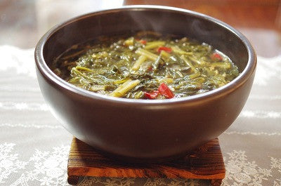 [Ready to Eat] Dried Radish Green with Boiled Rice Served in Soup (1 portion) / 우거지 국밥 (1인분)