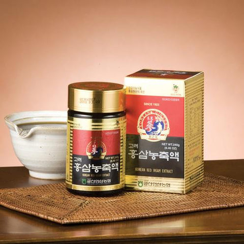 Korean Red Ginseng Extract Gold / 금산인삼농협 홍삼농축액 골드 (240g)