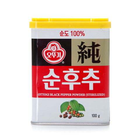 [Ottogi] Black Pepper Powder/오뚜기 순후추 100g