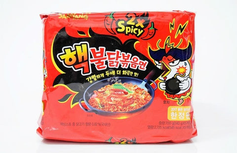 [SAMYANG] Spicy Chicken Ramen Nuclear / 삼양 핵 불닭 볶음면 (5pk)