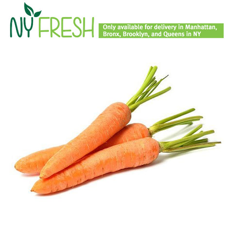 [NY FRESH] 당근 2pcs (1lb 내외) / Loose Carrot 2pcs (1LB)