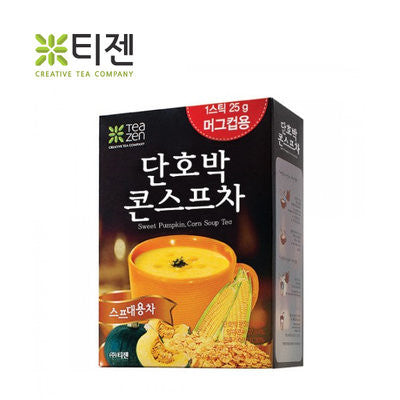 TEAZEN SWEET PUMPKIN,CORN SOUP TEA / 티젠 단호박 콘스프 차 9oz
