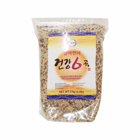 [Surasang] Sprouted Brown Rice(6 kinds of Grain)/수라상 발아현미 6곡  (2kg)