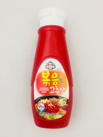 [ASSI] SEASONED HOT PEPPER PASTE / 아씨 볶음 고추장 300g