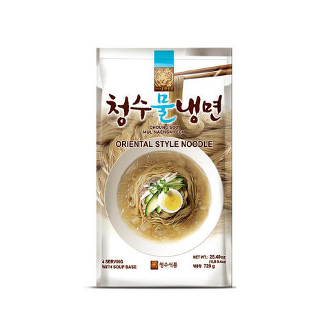 [Chungsoo Dried Naengmyun] Cold Noodle with broth  / 청수물냉면 (720g)