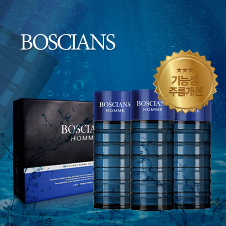 [Boscians] Homme Aqua Energy 3 in 1 Set / 보시앙 남성 3종세트