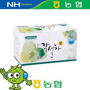 NH  JAKSULCHA-GREEN TEA / 화개농협 작설차 (25TB/1.06oz)