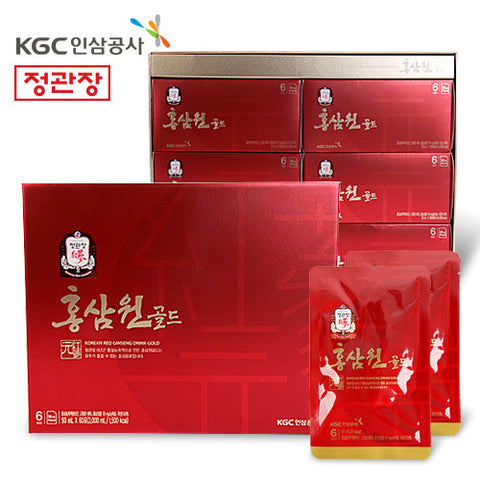 [CHEONG-KWAN-JANG] KOREAN RED GINSENG DRINK/정관장 홍삼원 골드 (50ml x 60pcs)