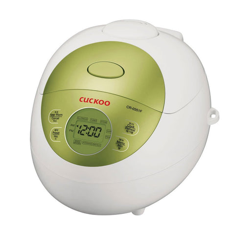 [Cuckoo]  Electric Rice Cooker (CR-0351F /3-cup/ Green) / 쿠쿠전기밥솥 (CR-0351F/3-cup/ Green)