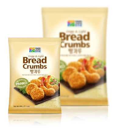 [Chungjungone] Breadcrumbs Crispy & Light/청정원 빵가루 (1kg)