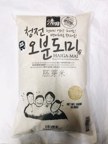 [CHUNGJEON] Nutri-Whole Grain Brown Rice / 청전 오분도미 15LB