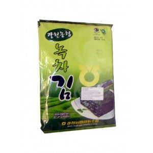 [Nonghyup] Gwangcheon NH Green Tea Seasoned Seaweed / 광천 농협 녹차김 (20g x 3봉)