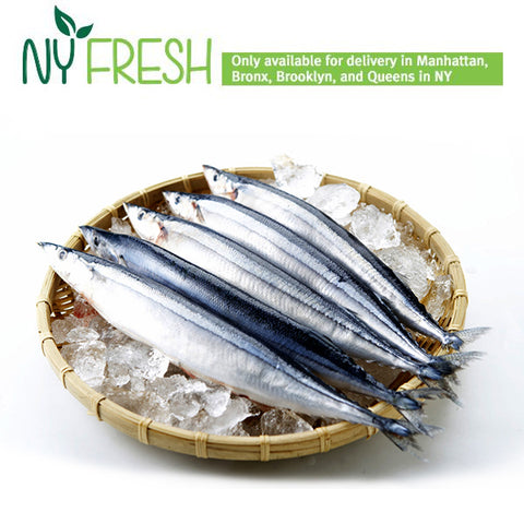 [NY FRESH] HY Salted Saury (4pc) / 손질된 꽁치 (4pc)