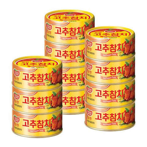 [Dongwon] F&B Tuna with Hot Pepper Sauce/동원 고추 참치 (4/pk)