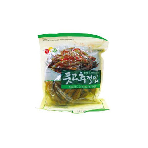 [Matsarang] Salted Green Pepper / 맛사랑 풋고추 절임 (1LB)