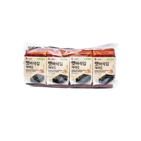 [Bibigo] Dried Seaweed Roasted Seaweed / 백설 햇 바삭김 재래김 (8pk)