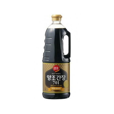 [Sempio] Naturally Brewed Soy Sauce 701 /샘표 양조간장 701 (1.8L)