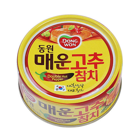 Dongwon F&B Tuna with double Hot Pepper Sauce/동원 매운 고추 참치 (150 g)
