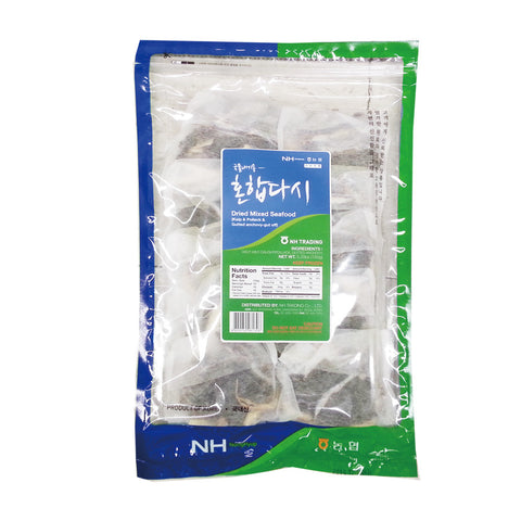 [NH] Dried Mixed Seafood (Kelp & Pollack Gutted Anchovy-gut off) /농협  국물내기용 혼합다시 (150g)