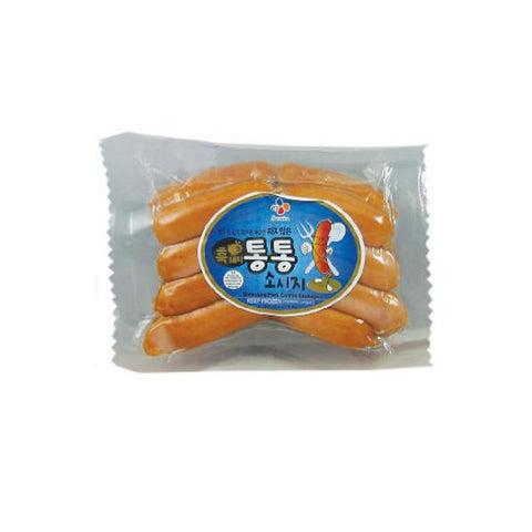 CJ Black Pork Sausage/CJ 통통 소시지 (8oz)