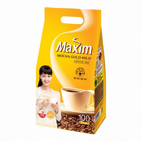 [Maxim] Mocha Gold Mild Coffee Mix/맥심 모카골드 커피믹스(100ea/pk)