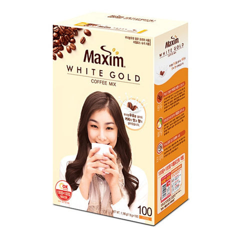 [Maxim] White Gold Instant Coffee Mix /맥심 화이트골드 커피믹스 (100/BOX)
