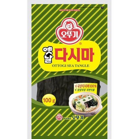 Ottogi Dried Sea Tangle/오뚜기 옛날다시마 (100g)