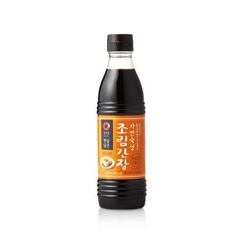 [Chungjungone] Naturally Brewed Soy Sauce for Stir-Fry/청정원 햇살담은 자연숙성 조림간장 (500ml)