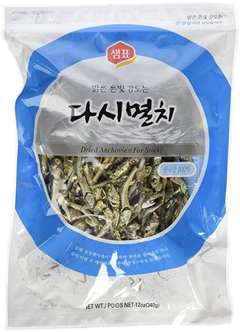 [Sempio] Dried Anchovies for Stock / 샘표 다시 멸치 (340g/12oz)