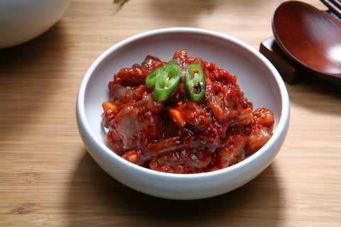 Salted &Seasoned Octopus/낙지젓갈(8oz)