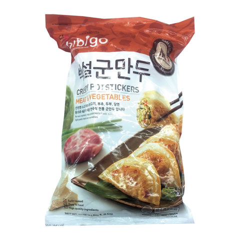 [CJ] Bibigo Crispy Dumplings/CJ 비비고 백설 군만두 (4lb)