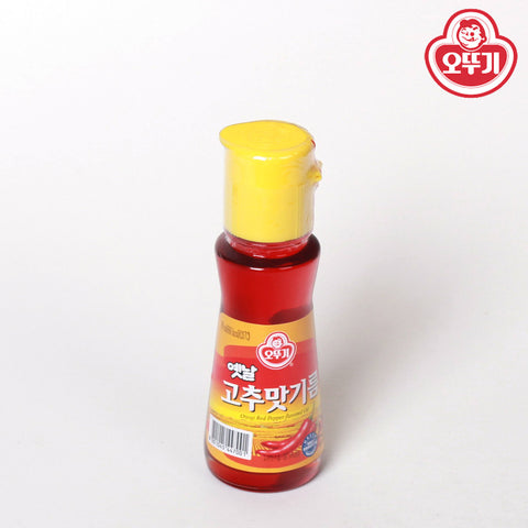 [Ottogi] Red Pepper Flavored Oil/오뚜기 고추맛기름( 2.70oz)
